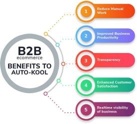 How our tech solutions helped Auto-Kool to increase automotive B2B Sales?